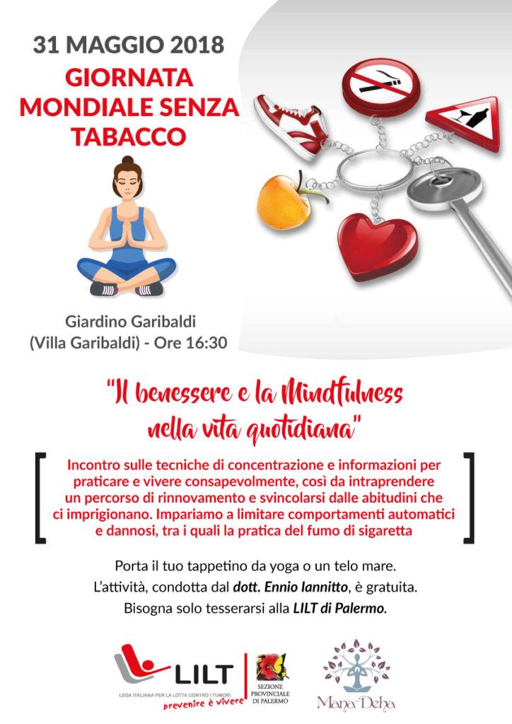 A3 giornata mondiale senza tabacco lilt